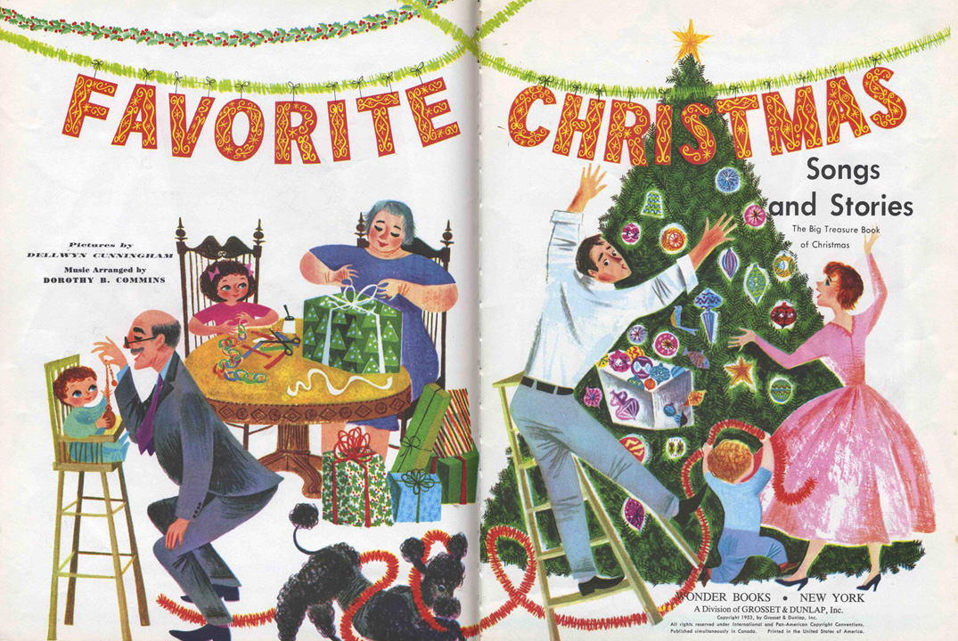 favorite christmas songs and stories dellwyn cunningham - Favorite Christmas Songs