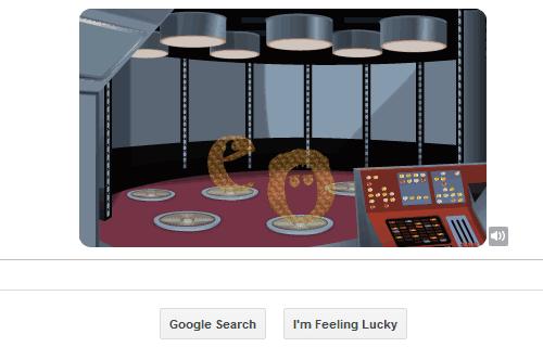 Star Trek Google Doodle 5
