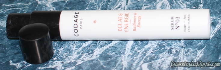 Codage No3 Radiance and Energy Serum