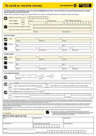 Western Union Formular Deutsch Download - rielayg