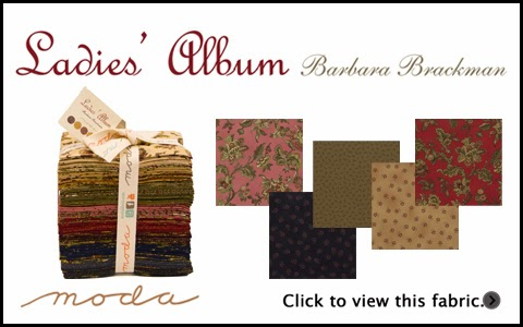 Moda LADIES' ALBUM Quilt Fabric by Barbara Brackman for Moda Fabrics