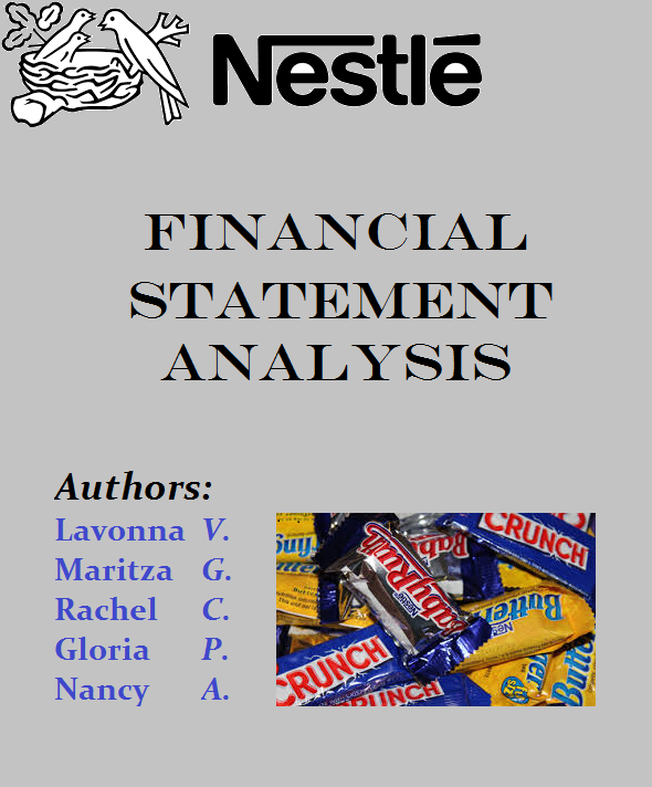 nestle malaysia financial ratio analysis Financial ratios analysis,comparision with peer companies, cash flow statement, trend analysis, layman terminology  nestle annual report analysis download  sales mix analysis nestle india has a number of products that it sells these products are compiled in a group called class of goods.