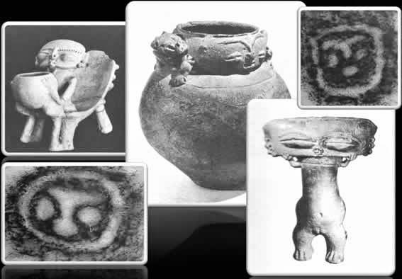 Objetos prehispánicos extraidos por la Dra. Henriqueta Peñalver y su equipo