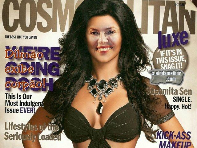 dilma modelo de revista