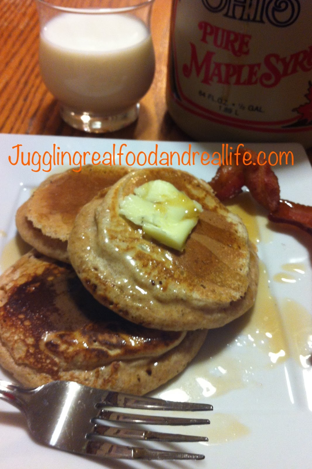 Cinnamon Spelt Pancakes - Juggling Real Food and Real Life - Juggling ...