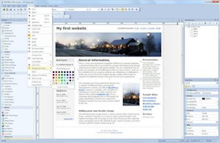 Web Builder is a WYSIWYG (What-You-See-Is-What-You-Get) program used to create web pages. WYSIWYG means that the finished page will display exactly the way it was designed
