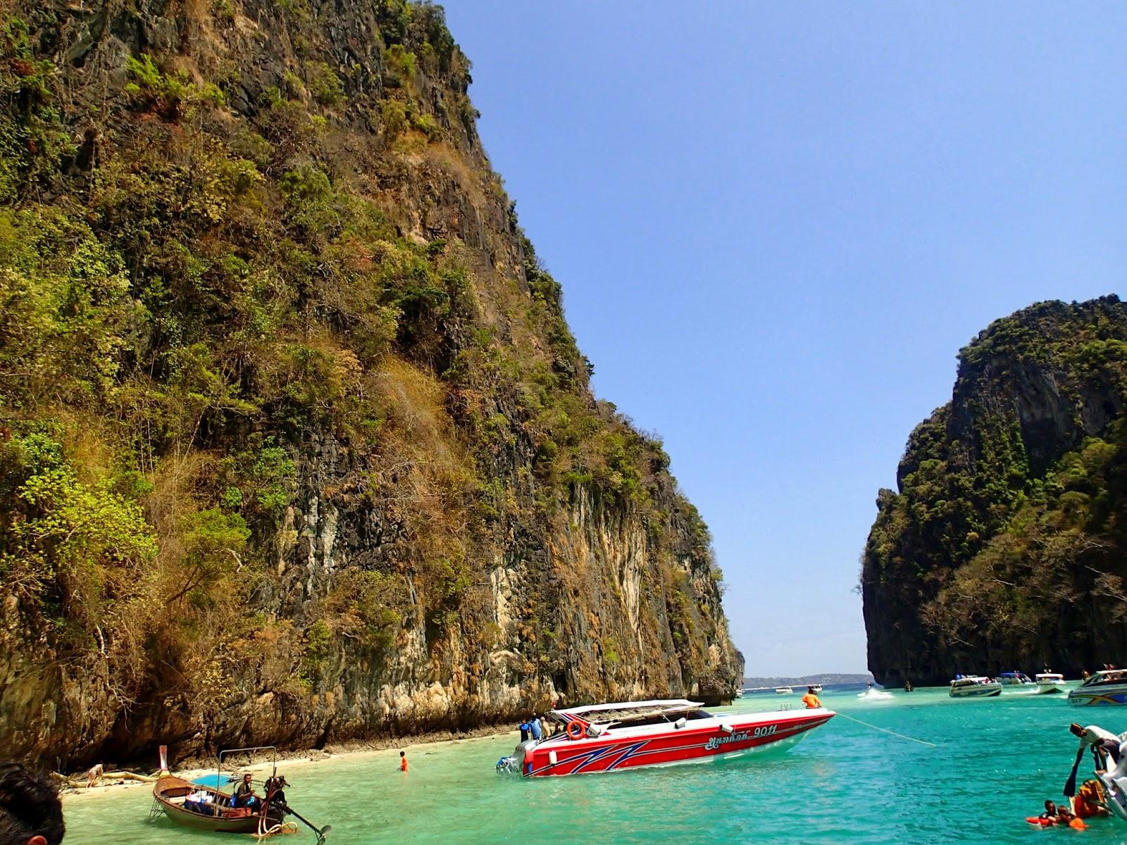 Pileh Lagoon, Phi Phi Islands, Thailand