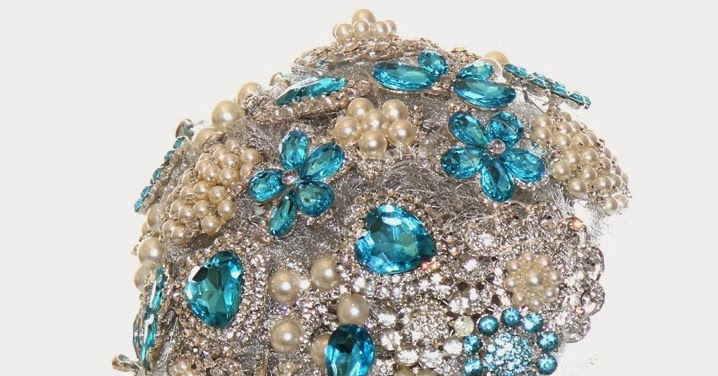 how to make your own brooch bouquet