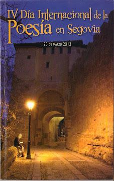 Antología del IV Día de la Poesía Internacional de Segovia 2013