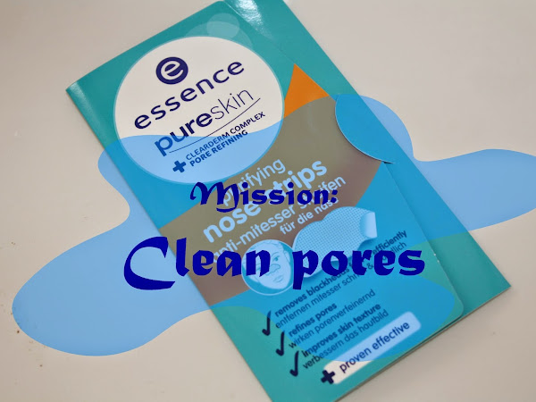REVIEW   ESSENCE purifying NOSE STRIPS