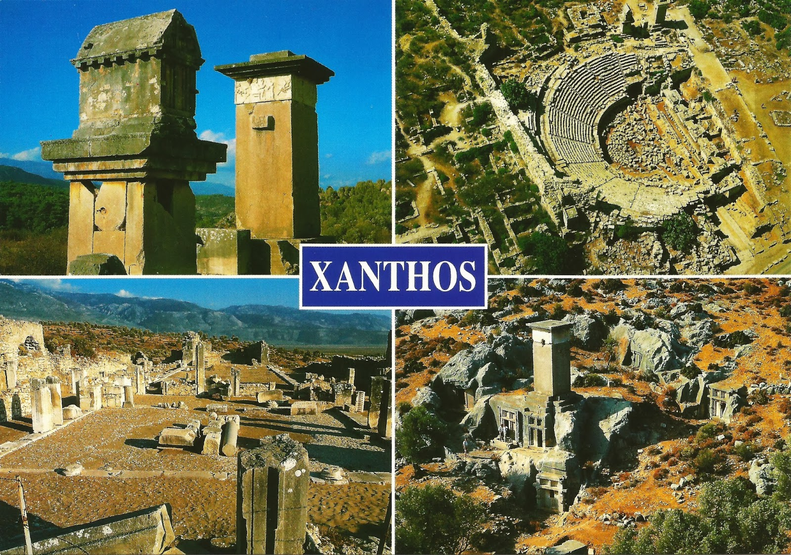 Postcards on My Wall: Xanthos - Letoon, Turkey (UNESCO)