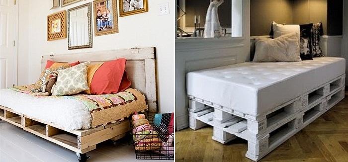 Maderas y chapas for Muebles con objetos reciclados