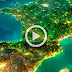 فيديو لمناظر رائعة للإضاءة في الليل للدول من علي محطة الفضاء الدولية