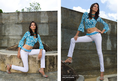 Lanka Girls Derana Veet Miss Sri Lanka For Miss World 2011 Miss Photogenic