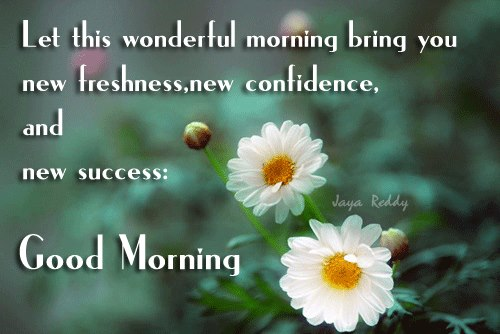 Good morning messages in english with pictures