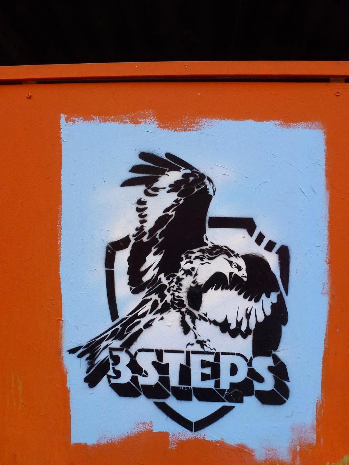 3 Steps, Stencils, Kunstpark Ost