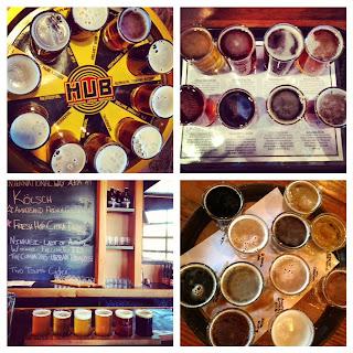 オレゴン ポートランド ビール テースタートレー