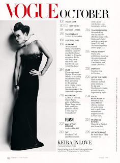 Keira Knightley in Vogue US October 2012