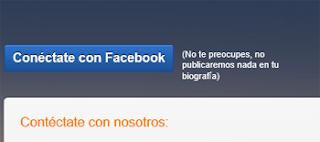 iniciar sesion twoo con facebook