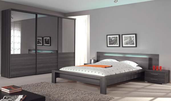 Art d co chambre a coucher casanaute for Decoration chambre moderne