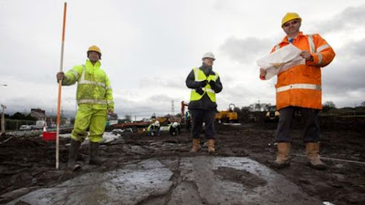 Roman settlement uncovered by builders in UK