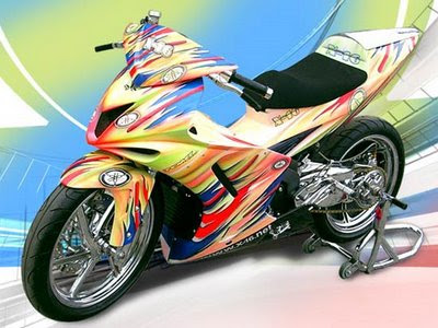 jupiter mx airbrush modif
