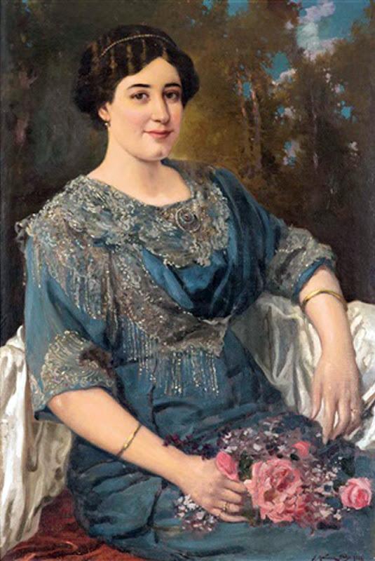 Aurora Martínez Abades y Moreno, Juan Martínez Abades, Marinas de Martínez Abades, Pintor español