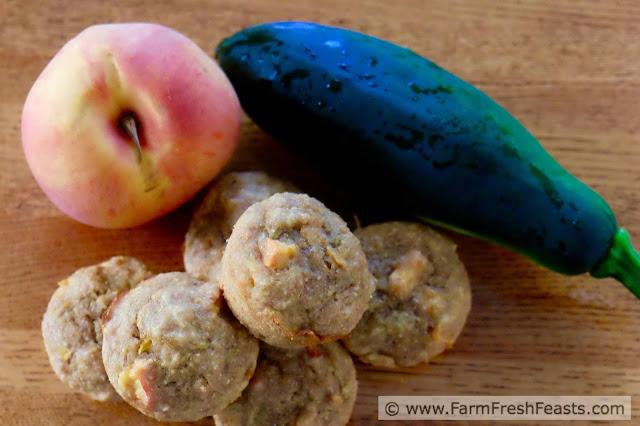 http://www.farmfreshfeasts.com/2015/08/peach-zucchini-muffins.html