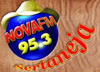 ouvir a Rádio Nova Sertaneja FM 95,3 Divinópolis MG