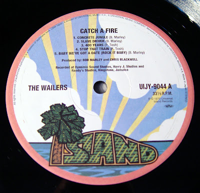 The Wailers - Catch A Fire (24-bit/96khz Vinyl)