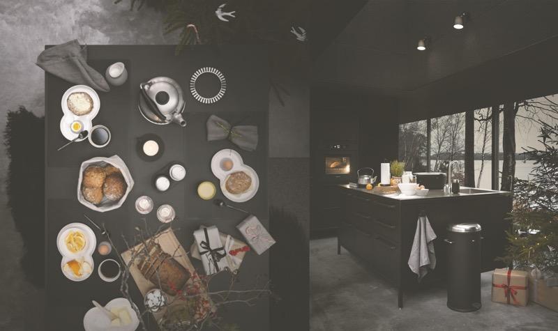 tanskalainen designmallisto keittiöön