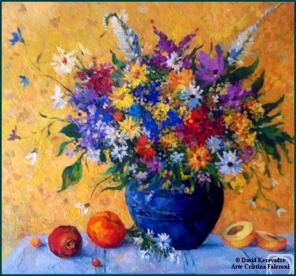 Painter David Kezevadzeborder