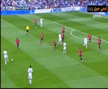 اهداف مباراة ريال مدريد والميريا 3-0    الدورى الاسبانى REAL GOALS VS ALEMRIA