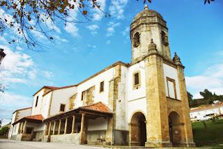 Colunga, Lastres, iglesia de Santa María de Sábada