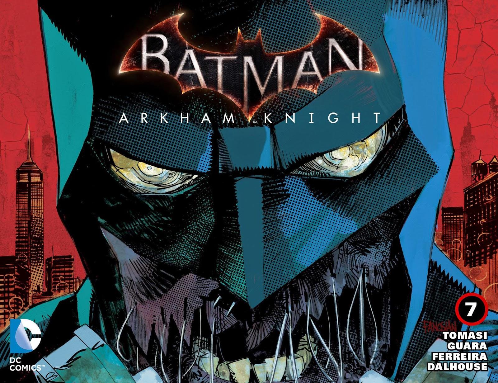 Batman Arkham Knight #7 2015 DC Comics