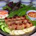 Món ăn với nem chua Ninh Hòa - Đặc sản Nha Trang Khánh Hòa
