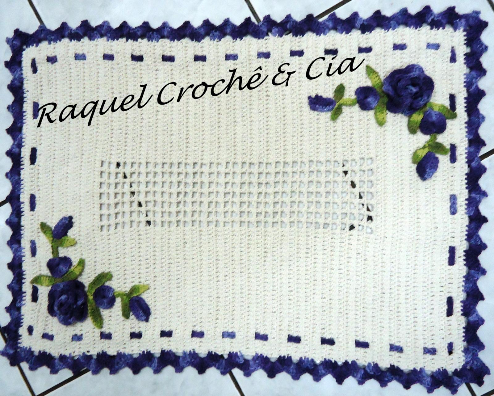 Tapete de croche com rosasjpg car interior design for Rosa weiay gestreifte tapete