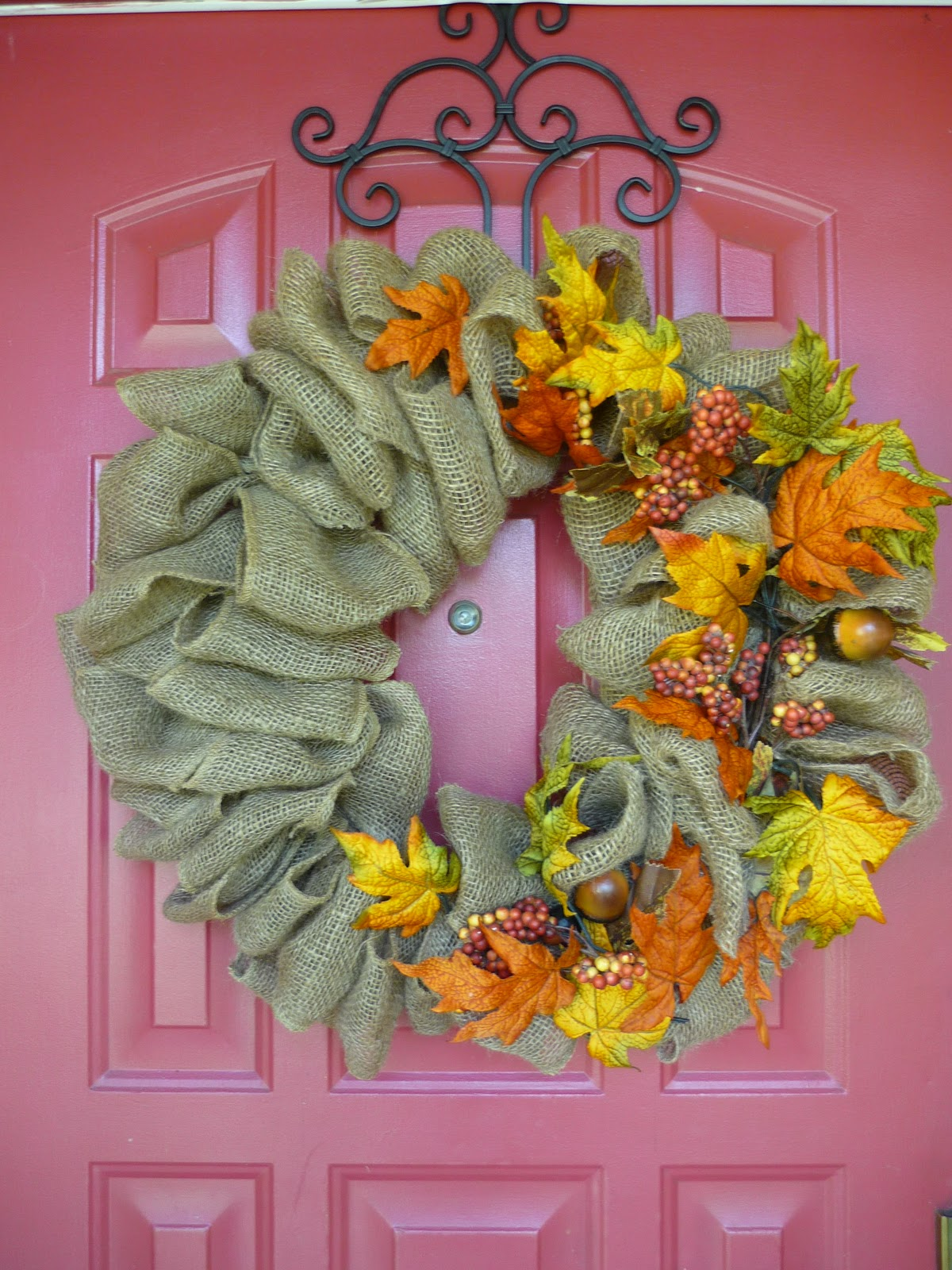 How Do You Do Vicki Sue How Do You Make A Burlap Wreath