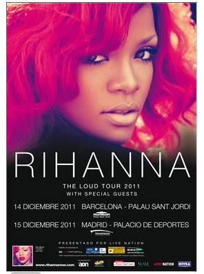 Rihanna 14 15 diciembre