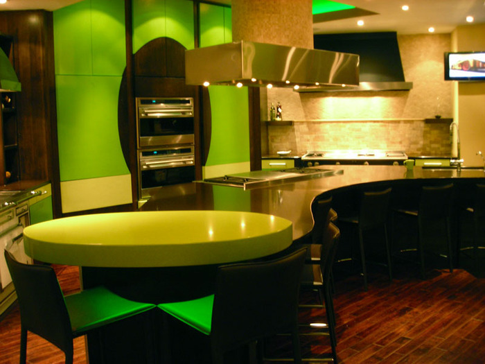 Yellow Green Kitchen : green and yellow kitchen the green and yellow kitchen and living room ...