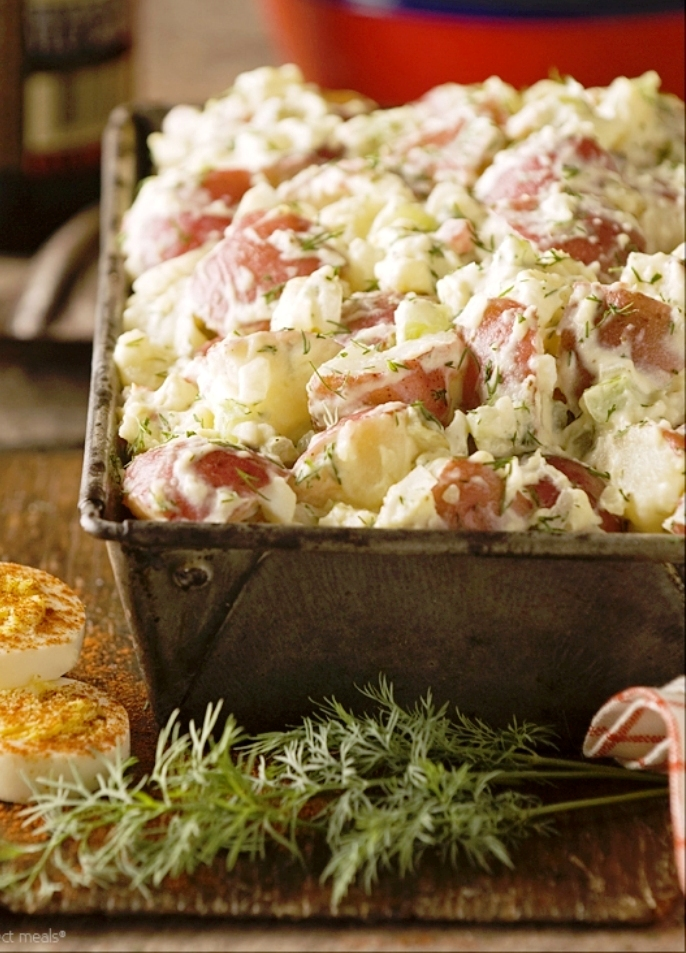 The Best Old Fashioned Potato Salad