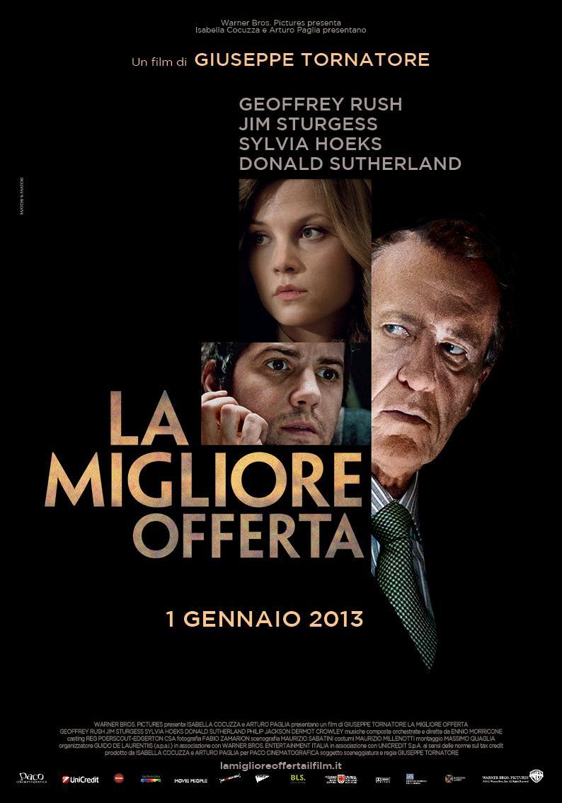 La mejor oferta (2013) Online Latino