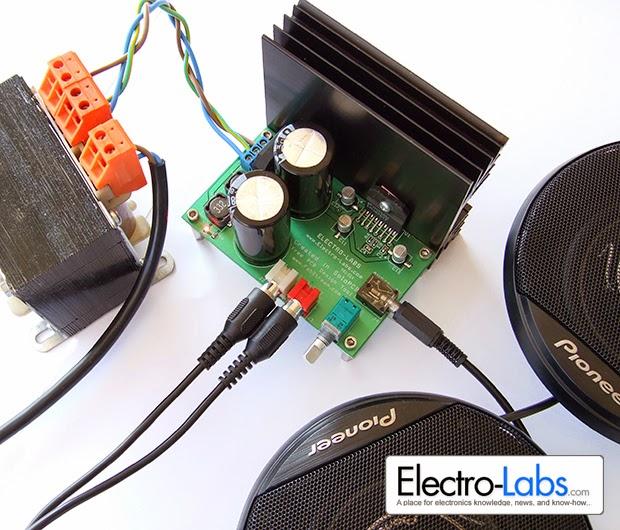 Amplificator Stereo Diy 20w Cu Lm1876 Scheme Electrice