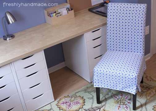 I Had Been Meaning To Make A Slipcover For A Desk Chair In My Project Room.