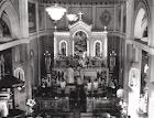 O interior da Igreja Matriz 1963