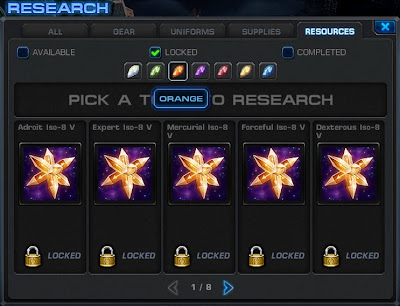 Resources Research Tab