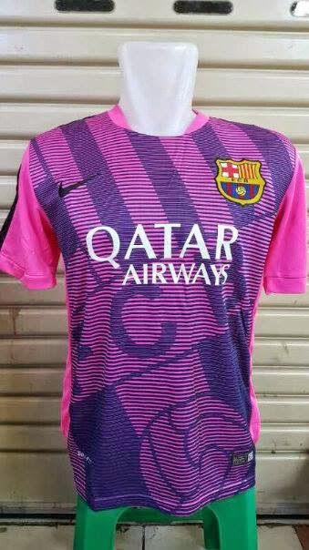 berita jersey prematch barcelona musim depan 2015/2016 kualitas graed ori made in thailand