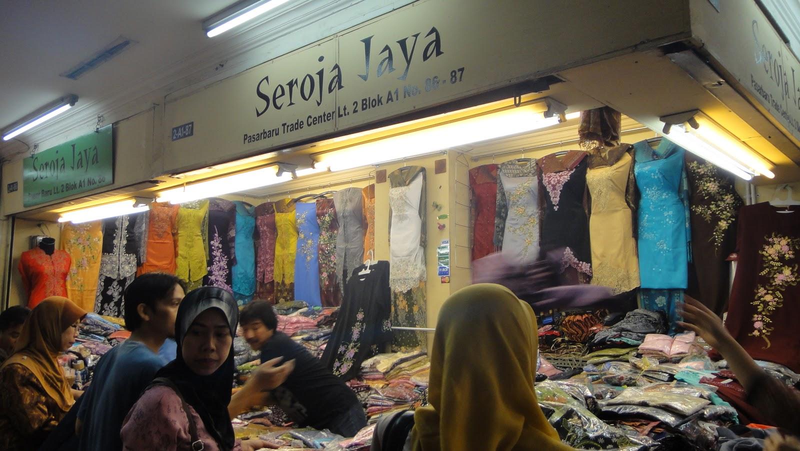 Hati yang gembira pasar baru bandung indonesia Baju gamis pasar baru bandung