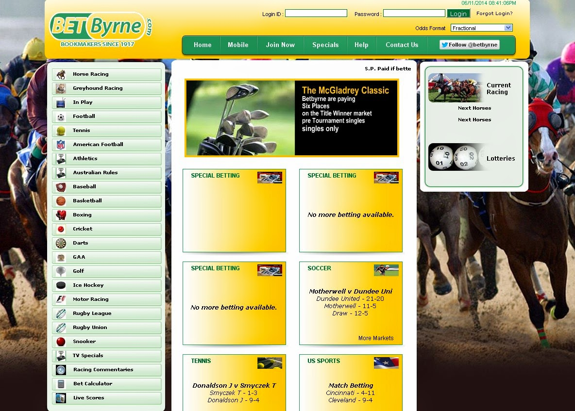 BetByrne Screen