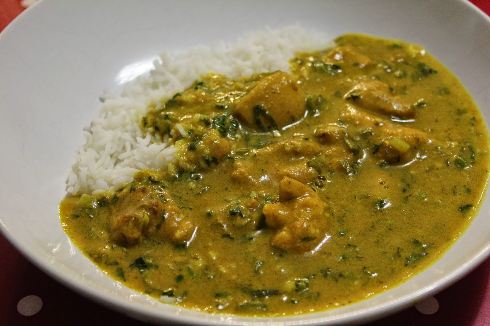 dash of flavour: Chicken Peanut Curry (Peanut Butter Chicken Curry)